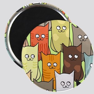 Cute Cats Magnet