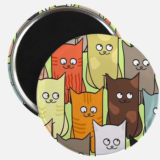 Cute Cats Magnet