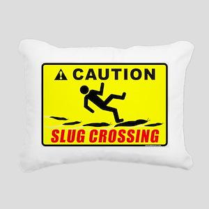SLUG CROSSING Rectangular Canvas Pillow