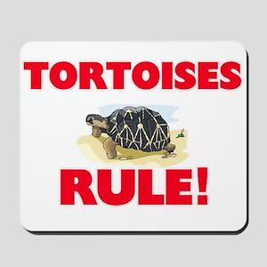 Tortoises Rule! Mousepad