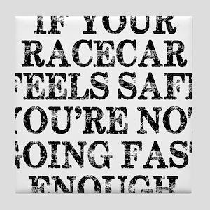 Funny Racing Saying Tile Coaster