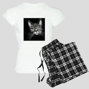Gray Tabby Women's Light Pajamas