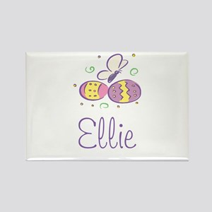 Easter Eggs - Ellie Rectangle Magnet