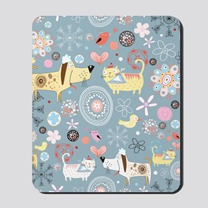 Dogs and Cats Mousepad