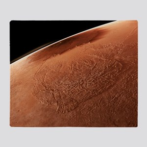 Olympus Mons, Mars Throw Blanket