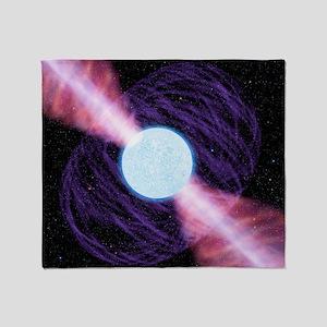 Pulsar Throw Blanket