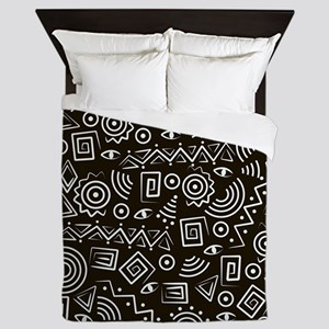 Tribal Pattern Queen Duvet
