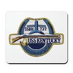 USS KENTUCKY Mousepad