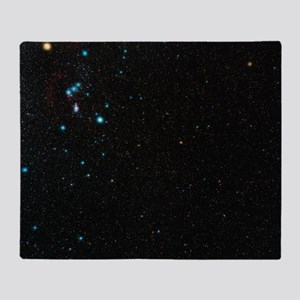 Orion constellation Throw Blanket