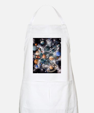 Solar system planets Apron