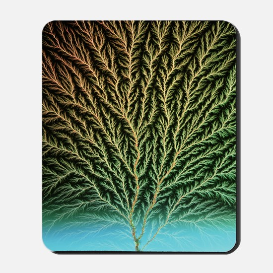 Electron tree in a block of plastic Mousepad
