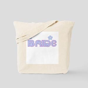 Fun Colors Bride Blue/Lilac Tote Bag