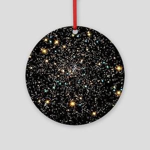 Stars in globular cluster NGC 6397 Round Ornament