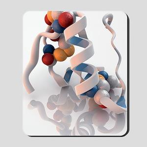 Insulin molecule Mousepad