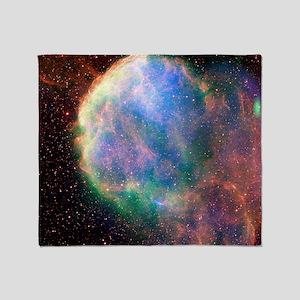 Supernova remnant IC 443, composite  Throw Blanket