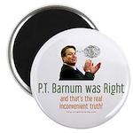 P.T. Barnum Al Gore Magnet