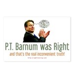 P.T. Barnum Al Gore Postcards (Package of 8)