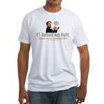 P.T. Barnum Al Gore Fitted T-Shirt