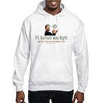 P.T. Barnum Al Gore Hooded Sweatshirt