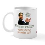 P.T. Barnum Al Gore Mug