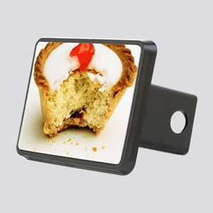 Tart with cherry Rectangular Hitch Cover