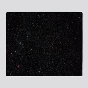 Star cluster M35 Throw Blanket