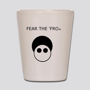 Fear the 'Fro Shot Glass
