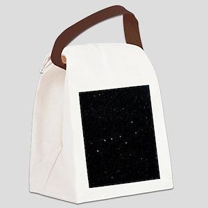 The Plough in Ursa Major, optical Canvas Lunch Bag