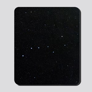 The Plough in Ursa Major, optical image Mousepad