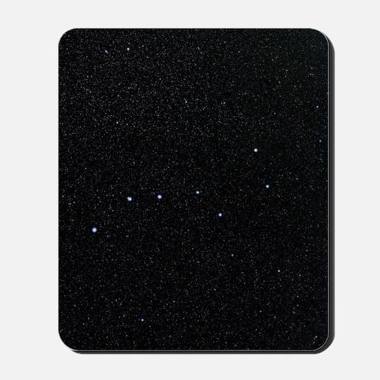 The Plough in Ursa Major, optical image Mousepad