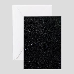 The Plough in Ursa Major, optical im Greeting Card