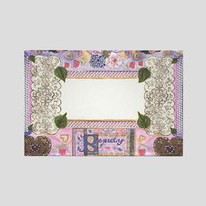 Beauty Frame by Kristie Hubler Rectangle Magnet