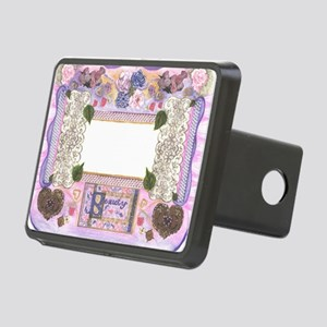 Beauty Frame by Kristie Hu Rectangular Hitch Cover