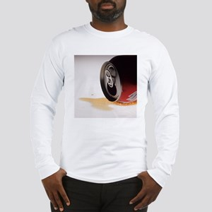 Spilt cola drink Long Sleeve T-Shirt