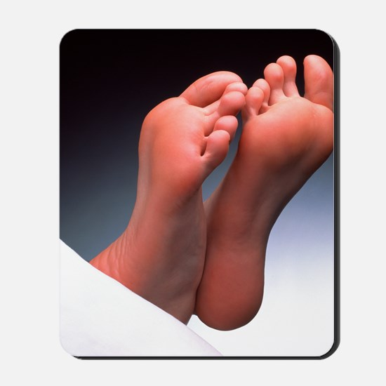 Soles of feet Mousepad