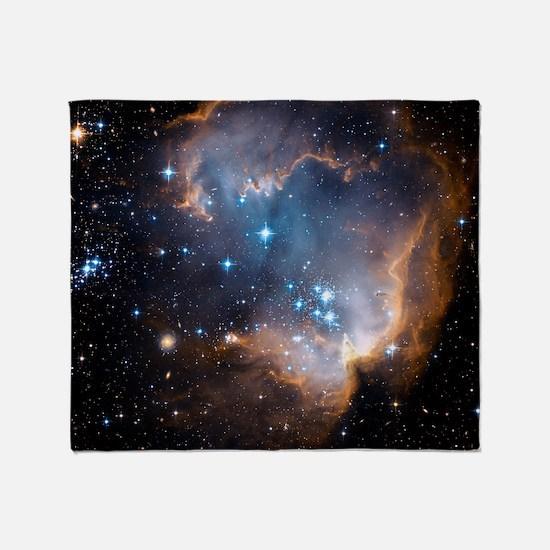 Starbirth region NGC 602 Throw Blanket