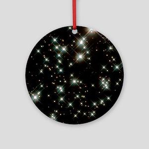 Stars in M4 globular cluster Round Ornament