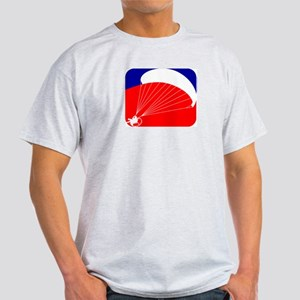 Paramotor - USA Paramotor Log Light T-Shirt