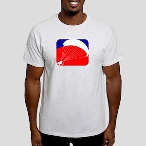 Paramotor - USA Paramotor Log Light T-Shirt