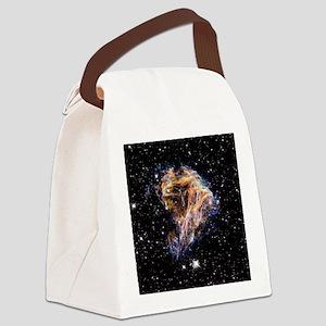 Supernova remnant LMC N 49 Canvas Lunch Bag
