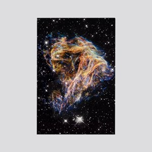 Supernova remnant LMC N 49 Rectangle Magnet