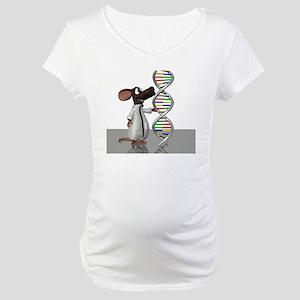 Transgenic mouse, conceptual art Maternity T-Shirt