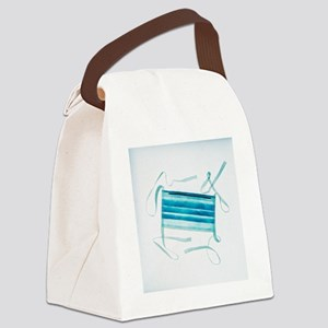 Surgical mask Canvas Lunch Bag