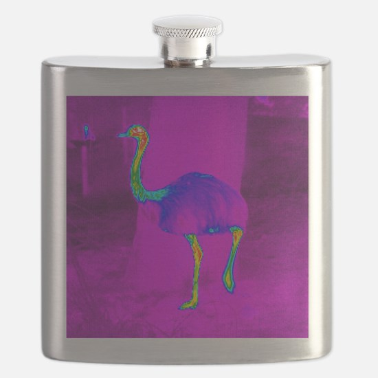 Thermogram of a rhea Flask