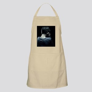 Unhappy boy Apron