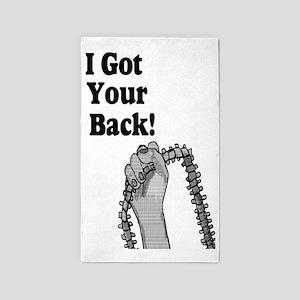 I Got Your Back 3'x5' Area Rug