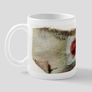 Used sticking plaster Mug