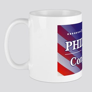 Terry Phillips for Congress Sticker 4 Mug