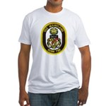 USS MARYLAND Fitted T-Shirt