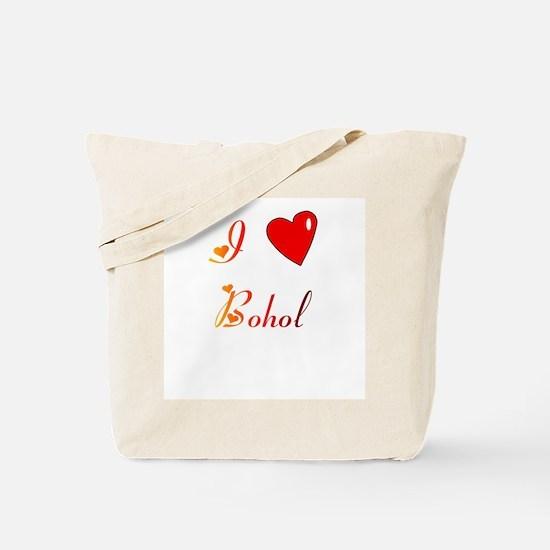 I Love Bohol Gifts Tote Bag